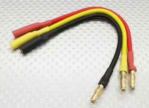 4 milímetros Masculino / Feminino Bala Brushless Motor Extensão 150 milímetros de chumbo