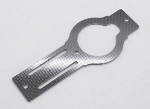 Trex / HK450 PRO 1,6 milímetros de fibra de carbono Main Frame Bottom Plate