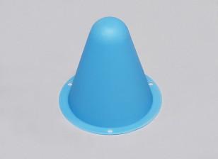Cones de Corrida de plástico para / Faixa Car R C ou deriva Course - Blue (10pcs / saco)