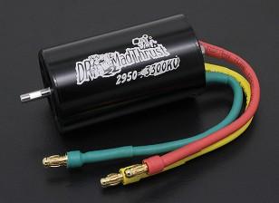 Dr. Mad Thrust 3300kv 1100W 64 milímetros EDF Inrunner Motor versão 4S (29 milímetros)