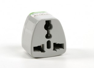 HobbyKing TXW016 Fused 13 Amp Corrente eléctrica multi Adapter-Grey (Plug UA)
