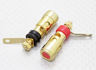 Primavera carregado 4MM Electrical Binding Post Pair