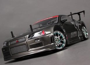 1/10 HobbyKing® ™ Missão-D 4WD GTR drift carro (ROLLER KIT)