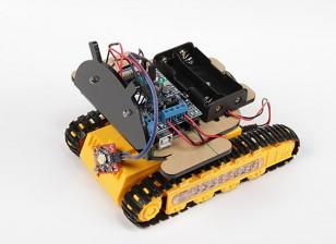 Kingduino Kit telemóvel Bluetooth Robot lagartas