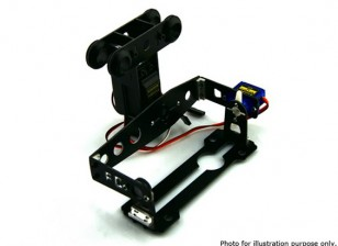 Uso Geral FPV e câmera 2 Axis Servo Gimbal FC-T12
