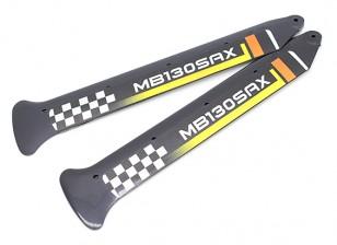 Blades principal 3D para Lâmina 130x (2pc) com Winglet