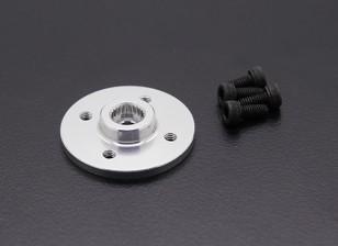 Super Heavy Duty Metal CNC Servo Disk - JR / Sanwa (Silver)