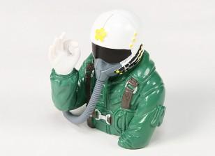 OK Estilo Mão Jet Pilot Para 90 milímetros Classe Jet (H91 x W77 x D64mm)