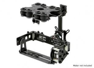 Absorção de choque Kit 2 Axis Brushless Gimbal para o cartão Câmeras Tipo - Fiberglass Versão