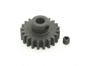 21T / 5 mm M1 Hardened pinhão Steel (1pc)