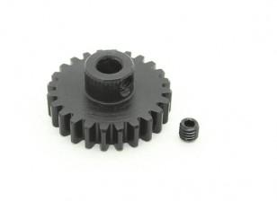 24T / 5 mm M1 Hardened pinhão Steel (1pc)