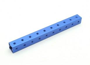 RotorBits pré-perfurados de alumínio anodizado Construção perfil 100 milímetros (azul)