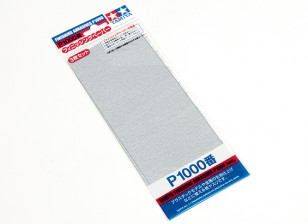 Tamiya acabamento molhado / seco lixa P1000 Grade (3pc)
