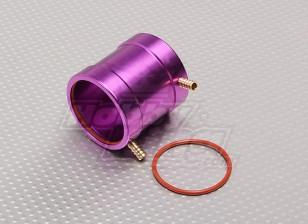 Água roxa alumínio jaqueta de resfriamento (36 milímetros)
