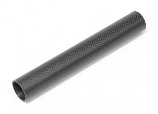 30 x 27 x 200 milímetros de fibra de carbono tubo (3K) tafetá Matt Finish