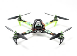 Turnigy SK450 Quadrotor Powered By Multistar. A Plug And Set Fly Quadrotor (PNF)