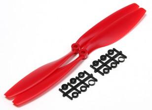 Turnigy Slowfly Hélice 10x4.5 Red (CCW) (2pcs)