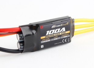 RotorStar 100A (2 6S ~) SBEC Brushless Speed Controller