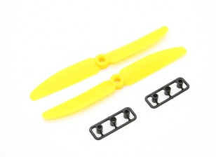 Gemfan Hélice 5x3 amarelo (CW / CCW) (2pcs)