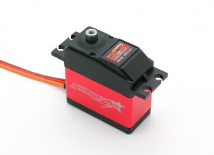 TrackStar TS-D10HV alta tensão Digital escala 1/10 Touring / tração Steering Servo 9,8 kg / 0.10sec / 63g