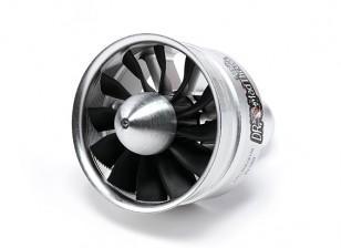Dr. Mad Thrust 90 milímetros 12 Lâmina Alloy EDF 1250kv - 3700w (8s) (Contador de giro)