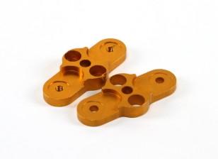 CNC 2 lâminas dobráveis Adaptador Hélice 1-Pair 28-12 (Gold)
