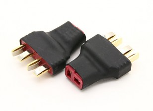 T plug Harness para 2 Packs em Série 2pcs / bag