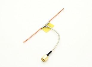 1.3GHz dipolo Coaxial alimentação Quarter Direct Connect Onda Antena (RP-SMA)