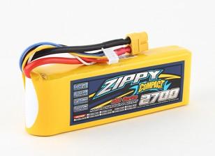 ZIPPY Compact 2700mAh 4s 40c Lipo pacote