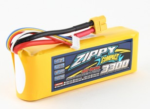 ZIPPY Compact 3300mAh 4s 40c Lipo pacote