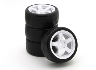 Varrer SWP-MN33 Mini Touring Conjunto Completo Tire 33deg (4pcs)
