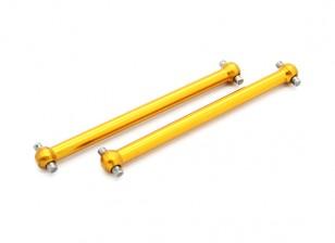 Opção Alu. Dogbones - Basher PitBull 1/18 4WD Desert Buggy (2pcs)