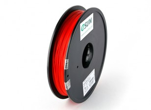Printer ESUN 3D Filament Red 1,75 milímetros PLA 0.5KG Spool