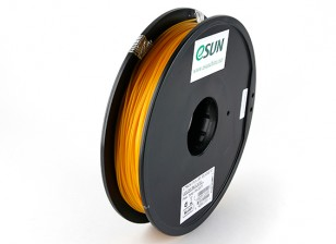 ESUN 3D 1,75 milímetros ouro Filament Printer PLA 0.5KG Spool