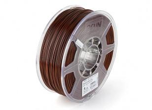 Printer ESUN 3D Filament Brown 1,75 milímetros ABS 1KG rolo