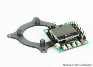 Mini controlador de vôo adaptador de montagem Base de Dados de 45 / 30,5 milímetros Naze32, KK Mini, CC3D, Mini APM (30,5 milímetros, 36 milímetros)