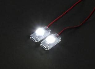 Turnigy Super Bright 2 x White Add On LED Light Set