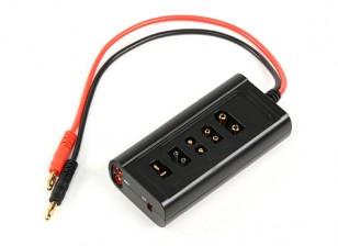 Turnigy Multi-plugue da bateria Adaptador de carregamento