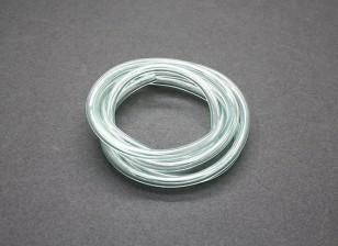tubo de combustível de silício (1 mtr) 4.5x2.5mm Green (Nitro & Gas Engines)