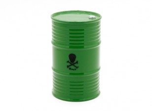 1/10 Scale 45 Gallon Oil Drum - Verde