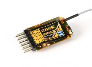 Receptor OrangeRx SF400S Futaba FHSS Compatível 4 canais 2.4Ghz com FS e SBus