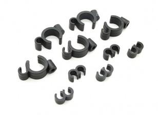 Filtro de combustível / clipes de montagem de linha (5 sets)