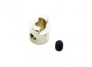 4 milímetros Shaft inoxidável Unidade Dog Aço