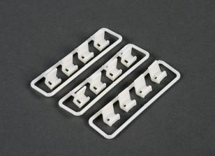 Cable Tie Set montagem Clip (12 peças)