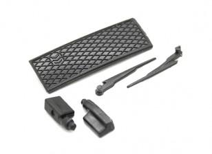 Wiper / Side Espelho / Set Grill - Kit OH35P01 1/35 rastreador de Rock