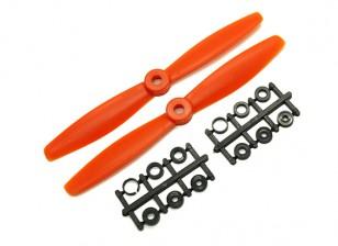 Nariz Gemfan Touro BN6045 Hélices CW / CCW Set (laranja) 6 x 4,5