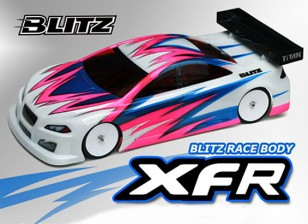 Corpo BLITZ XFR Race (190 milímetros) (0,8 milímetros) EFRA 4028