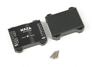CNC de alumínio de proteção capa para Naza vôo Controller (Black)