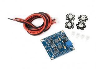 Freqüência Ajustável Quadrotor LED Module Set