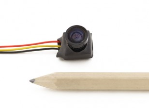 Mini CMOS FPV Camera linha do sensor 1/4 HD 600